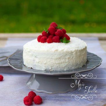 KOKOSOVO – MAKOVO – MALINOVÁ TORTA