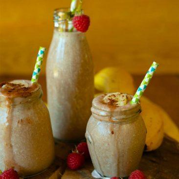 Ľadové banánové smoothie