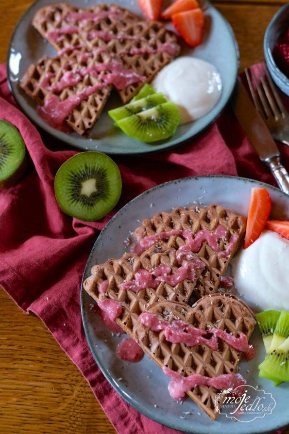 Kakaové vafle