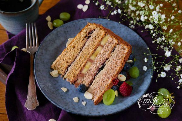 Slávnostná orechová torta