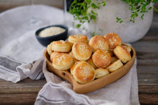 Bryndzovo zemiakové prekladané pagáče