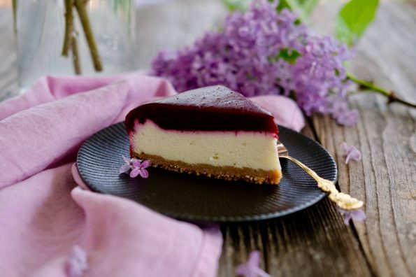 Tvarohový cheesecake s ovocným želé
